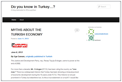 Do you know in Turkey…?