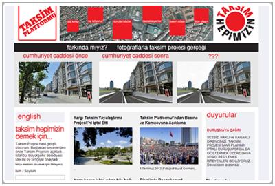 Taksim Platform (Turkish)