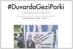 Gezi Park on Walls