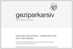 Gezi Park Visual Archieve