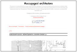 Occupy Gezi Architecture