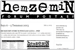 Hemzemin Forum Post (mainly Turkish)