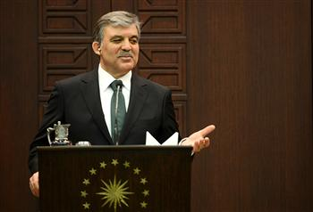 In a written statement, President Abdullah Gül said the security forces should act more carefully than usual and be sensitive while dealing with protesters. AA photo