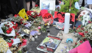 Ethem's memorial place. Photo: Esra Koçak