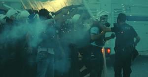 A typical police intervention in Turkey, during Gezi Park riots. Photo: Doğu Eroğlu