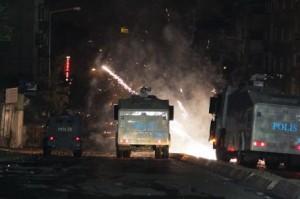 Gezi Parký olaylarý Gazi Mahallesi'nde