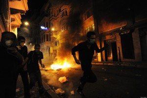 Protests In Turkey Turn Violent