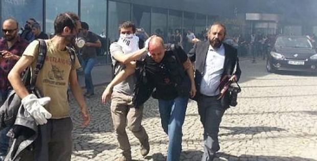 Ahmet Şık da Gezi'de yaralanan gazeteciler arasındaydı.