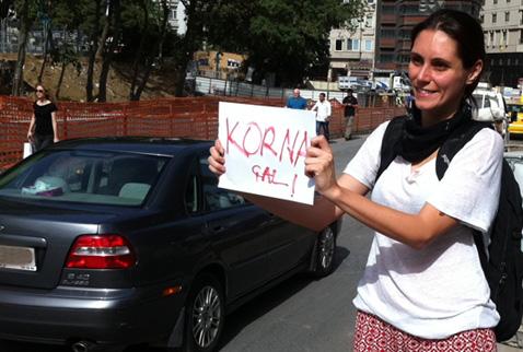 gezi-kornaliprotesto