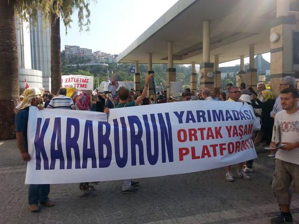 karaburun-platform