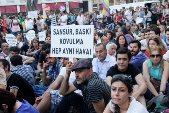 Gazetecilerin Gezi eylemi