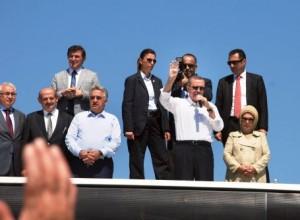 Basbakan Erdogan Cayeli'nde