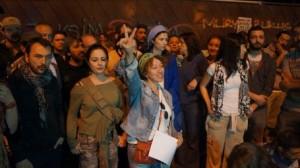sanatcýmlardan eylemcilere destek