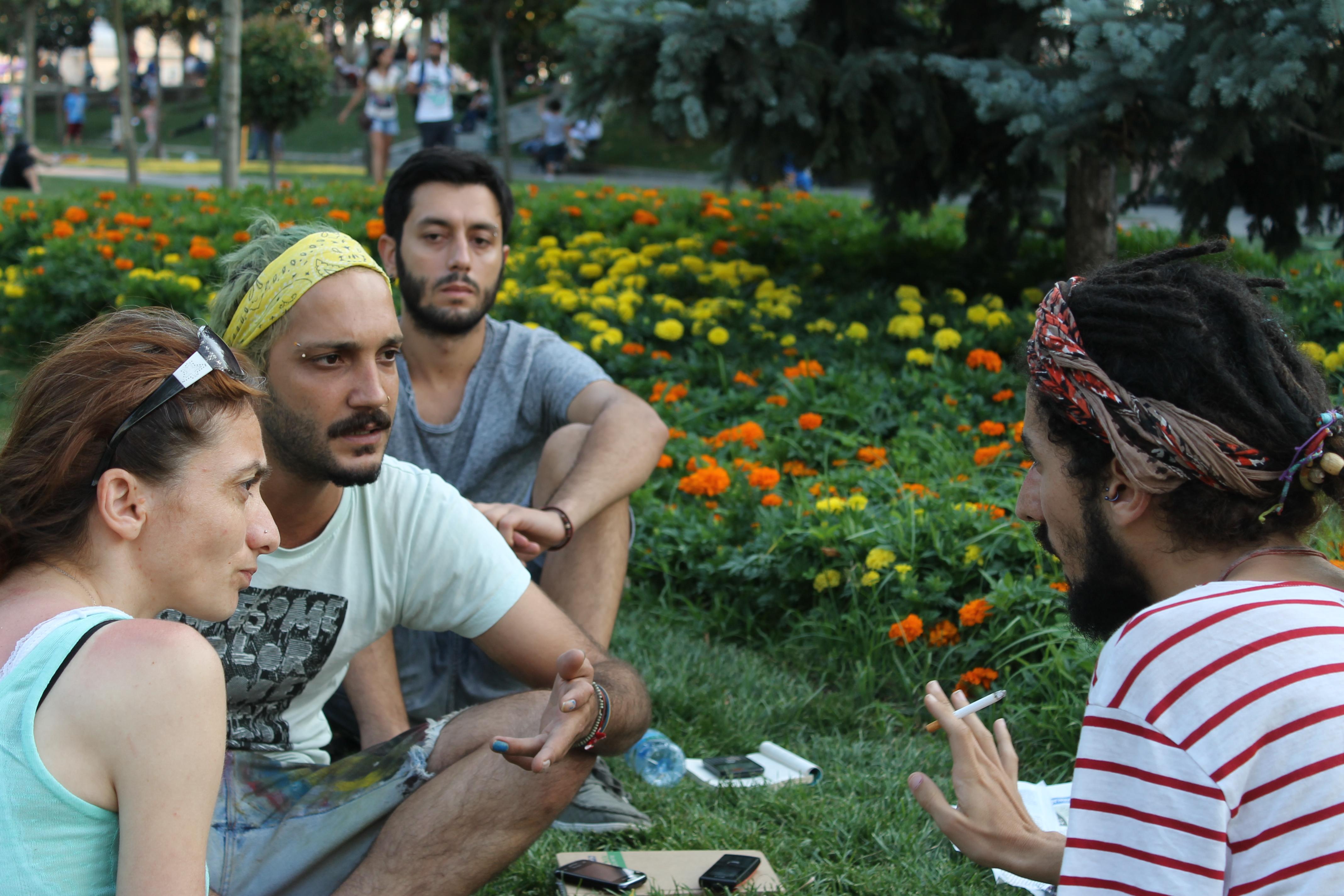 LGBT bireyler Gezi'yi insanhaber.com'a anlatıyor