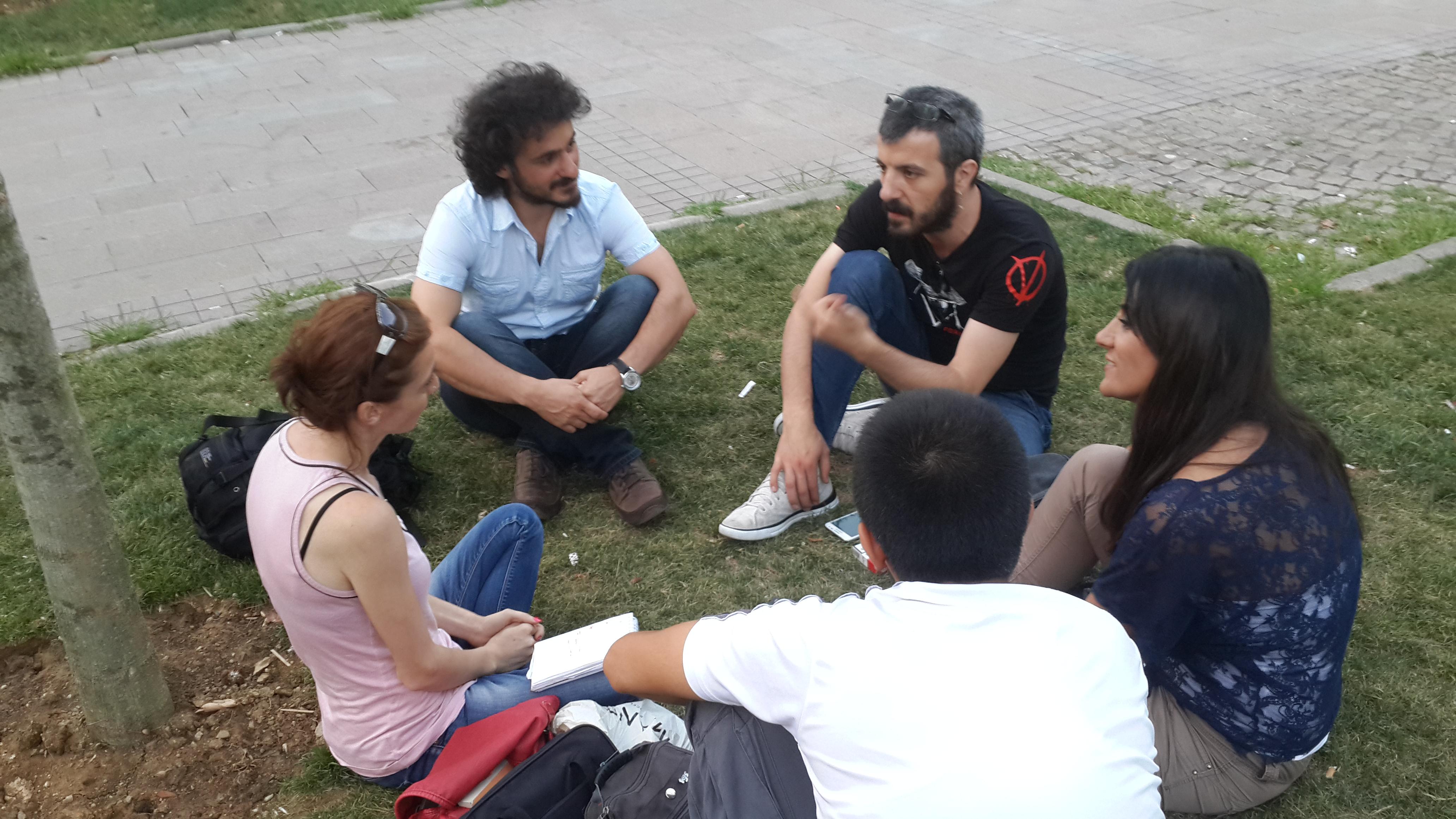 Gazeteciler Gezi sürecini insanhaber.com'a anlatıyor.