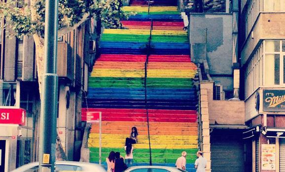 LGBT-stairway