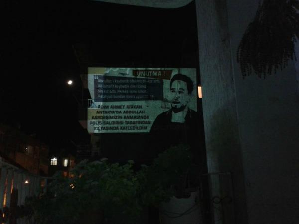 Antakya Armutlu'da Ahmet anması