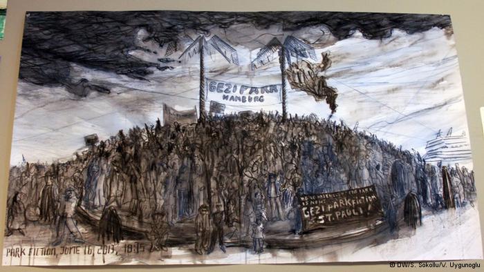 "Alman sanatçı Christoph Schäfer'den ""Gezi Park Fiction"""