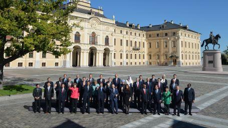 G20 Liderler aile fotografi cektirdi