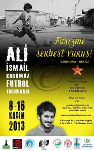 Ali Ismail Korkmaz futbol turnuvasi