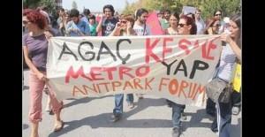ODTU Protesto