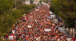 Samsun'da 1 Haziran'daki eyleme binlerce kişi katılmış, eyleme polis saldırmıştı.