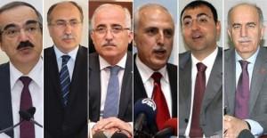 * Hüseyin Avni Coş, Abdurrahman Savaş, Güngör Azim Tuna, Hüseyin Avni Mutlu, Mustafa Toprak, Şahabettin Harput.